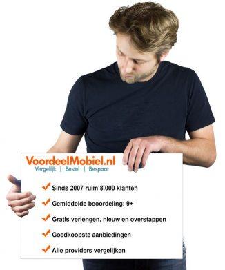Abonnement telefoon en Sim Only Voordeelmobiel