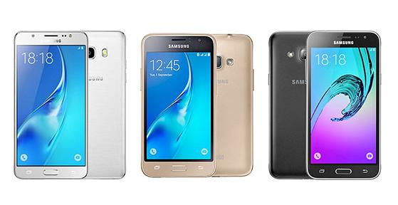Samsung Galaxy j1 j3 j5