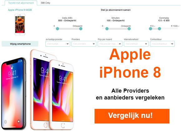 Goedkoopste iPhone 8 aanbiedingen